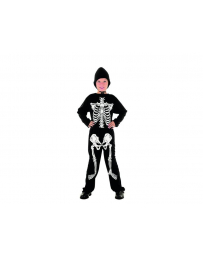 COSTUME SQUELETTE HUMAIN 4 - 6 ANS