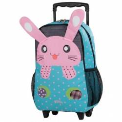 MINI SAC ROULETTE POLO - LAPIN ROSE