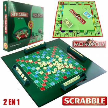 MONOPOLY /SCRABLE