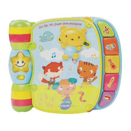 Vtech - Do, Ré, Mi Super Livre Enchanté