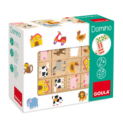 GOULA - DOMINOS ANIMAUX FERMES