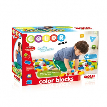 DOLU - COLOR BLOCKS - 56 PIECES