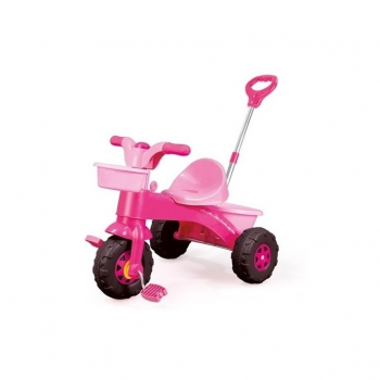 DOLU - MY FIRST TRIKE PINK PARENT HANDLE