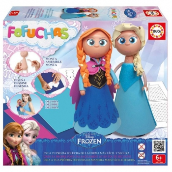 EDUCA - PACK DE 2 FOFUCHAS-REINE DES NEIGES