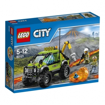 LEGO - CITY- LE CAMION D'EXPLORATION DU VOLCAN