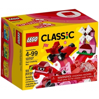 LEGO - CLASSIC - LA BOITE DE CREATION ROUGE