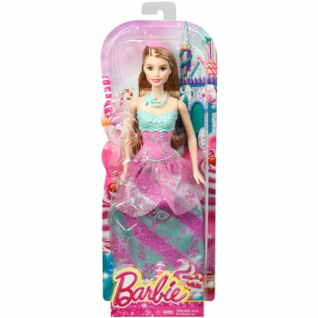 MATTEL - BARBIE PRINCESSE MULTICOLORE