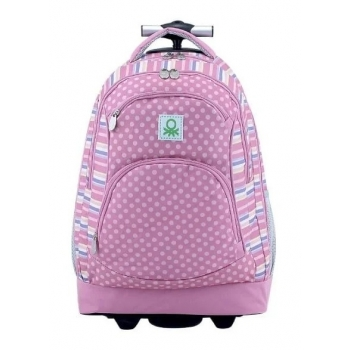 TROLLEY BENETTON OVAL ROSE