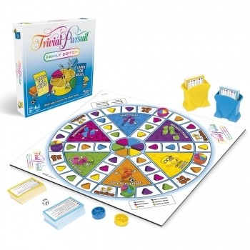 HASBRO - TRIVIAL PURSUIT - EDITION FAMILLE