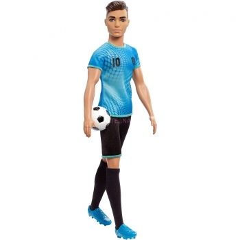 MATTEL - FXP02 - BARBIE CARRIERE - KEN FOOTBALLER