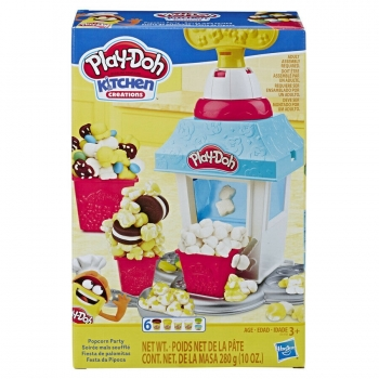 HASBRO - PLAY DOH - LA MACHINE A POP CORN