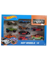 HOTWHEELS PACK DE 10