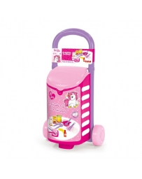 DOLU - UNICORN TROLLY WITH KITCHEN SET