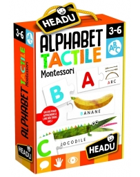 HEADU - ALPHABET TACTILE MONTESSORI