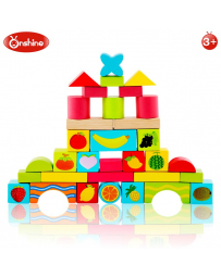ONSHINE - JEU E CONSTRUCTION 33 PCS