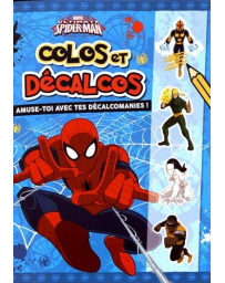 ULTIMATE SPIDERMAN - COLOS ET DECALCOS