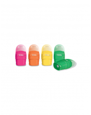 TAILLE CRAYONS COLORINO 2 USAGES + GOMME D20