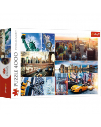 TREFL - PUZZLES 4000 - NEW YORK-COLLAGE