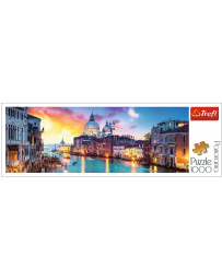 TREFL - PUZZLES PANORAMA 1000 - GRAND CANAL,VENISE