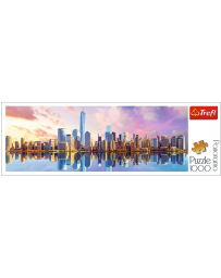 TREFL - PUZZLES PANORAMA 1000 - MANHATTAN,NEW YORK