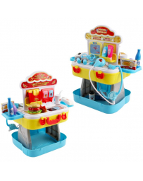 SET 2 EN 1 DOCTEUR & FOOD STATION
