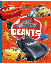 MES STICKERS GEANTS CARS
