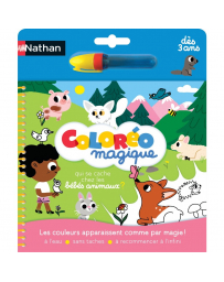 NATHAN - COLOREO MAGIQUE - LES BEBE ANIMAUX