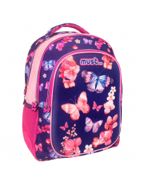 SAC A DOS MUST 3D 3 POCHES BUTTERFLY