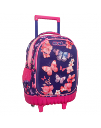 SAC A ROULETTE MUST 3 POCHES BUTTERFLY