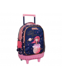 SAC A ROULETTE MUST 3 POCHES GIRL SPACE